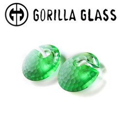 "Gorilla Glass Martele Eclipses 1.5oz Ear Weights 1/2"" And Up (Pair)"