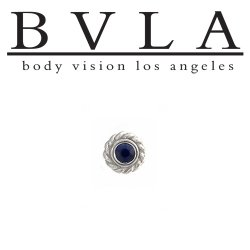 "BVLA 14kt Gold Mini ""Choctaw"" 4.5mm Threadless End 18g 16g 14g Body Vision Los Angeles"