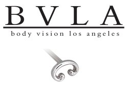 BVLA 14kt Yellow White Rose Gold 5.5x3.5mm Swoosh Nostril Screw Nose Bone Nail Stud 20g 18g 16g Body Vision Los Angeles