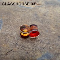 "Glasshouse 33 Wrath Double Flare Plugs 7/16"" (Pair)"