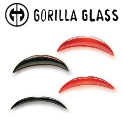 Gorilla Glass Septum Tusk 8 Gauge to 00 Gauge