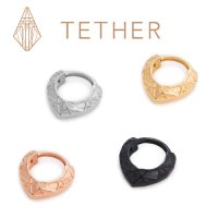 "Tether Jewelry Stainless Steel ""Lattice\"" Clicker 14 Gauge 14g"