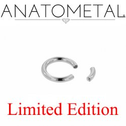 "Anatometal Surgical Steel 5/8"" Segment Ring 12 Gauge 12g Limited Edition"