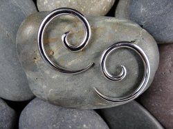 Little Seven Steel Spirals 14g 12g 10g 8g 6g 4g (Pair)