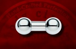 "Body Circle Surgical Stainless Steel 1/2"" Straight Barbell 0 Gauge 0g"
