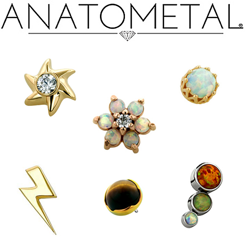 Anatometal Threadless Jewelry