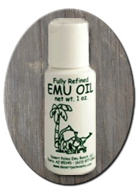 Desert Palms Emu Oil 1 oz.