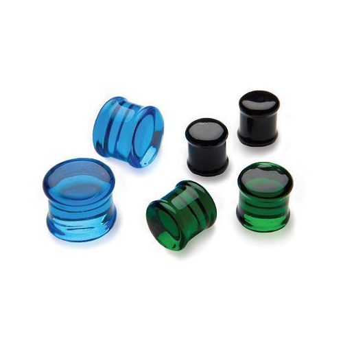 Glass Ear Plugs and Eyelets
